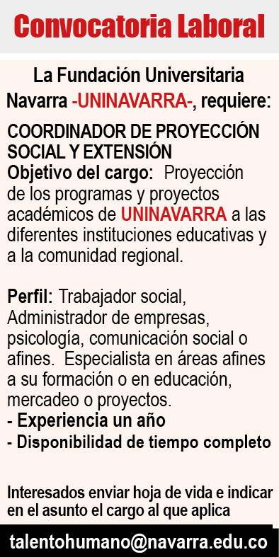 coordinador proyeccion social