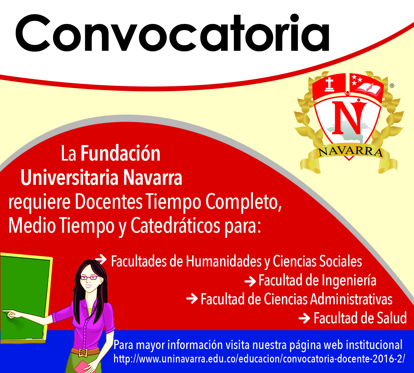 Convocatoria docente 2016 2 uninavarra for Convocatoria de docentes 2016