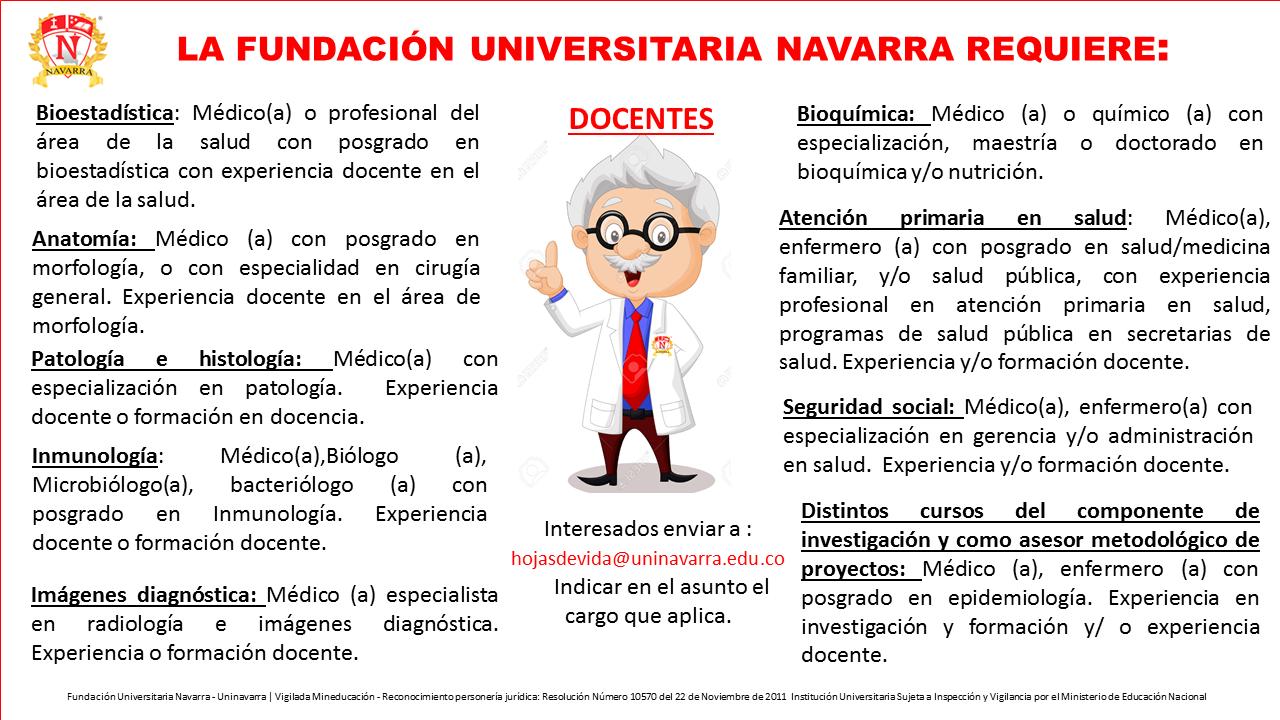 Convocatoria docentes uninavarra for Convocatoria concurso docente 2016