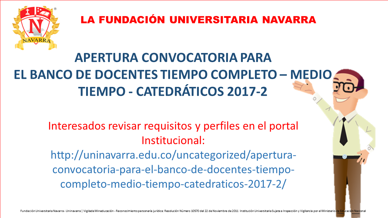 Apertura convocatoria para el banco de docentes tiempo for Convocatoria de docentes 2017