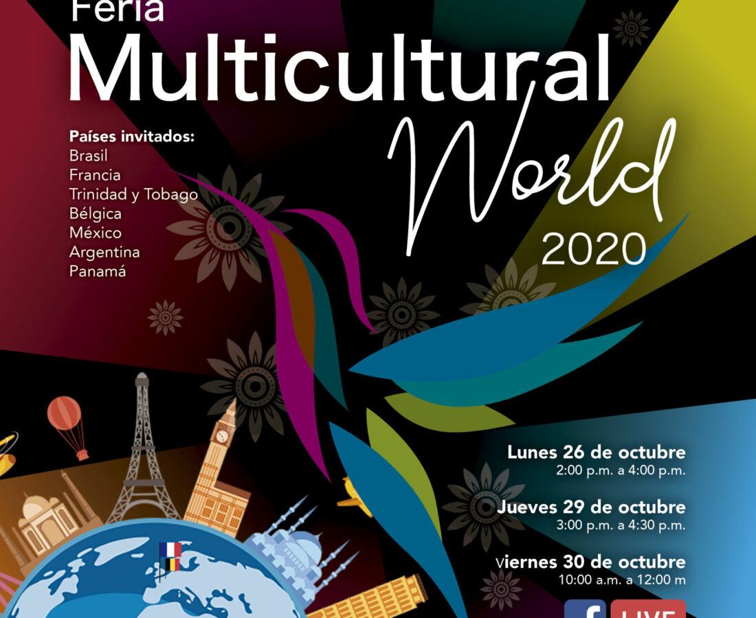 1. Invitación Feria Multicultural World 2020