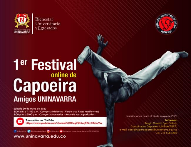 1 Er festival online de Capoeira amigos Uninavarra (2)