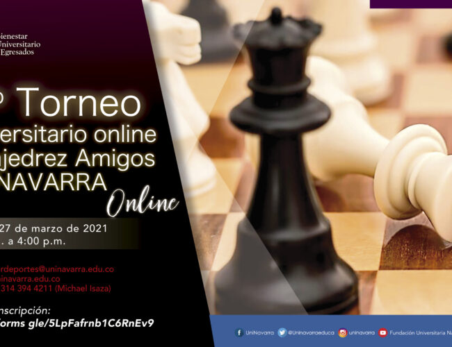 2do Torneo universitario online de ajedrez amigos Uninavarra 2021-1